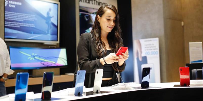 Samsung Store abre su nuevo espacio en Parque Lindavista