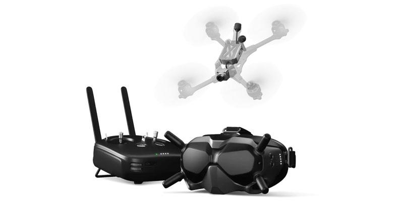 DJI apuesta por las carreras de drones con su sistema Digital DJI FPV