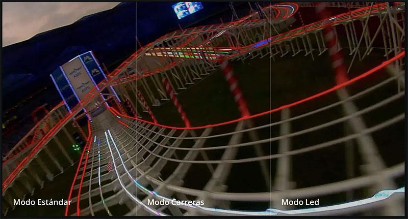 Sistema Digital DJI FPV modos