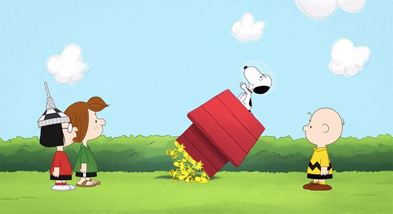 Snoopy in Space, la serie animada de Peanuts para Apple TV+