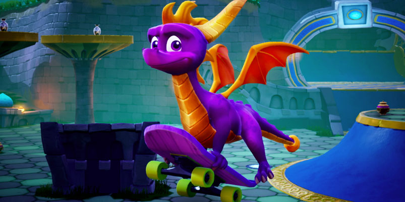 Spyro Reignited Trilogy estará llegando a Nintendo Switch