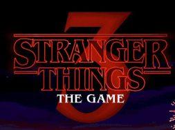 Stranger Things 3 The Game logo