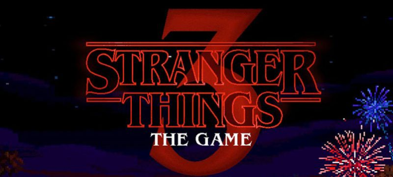 Stranger Things 3 The Game logo