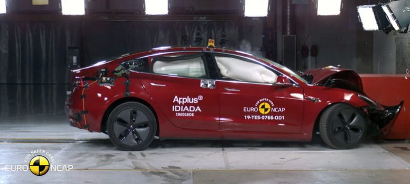 Tesla Model 3 EuroNCAP