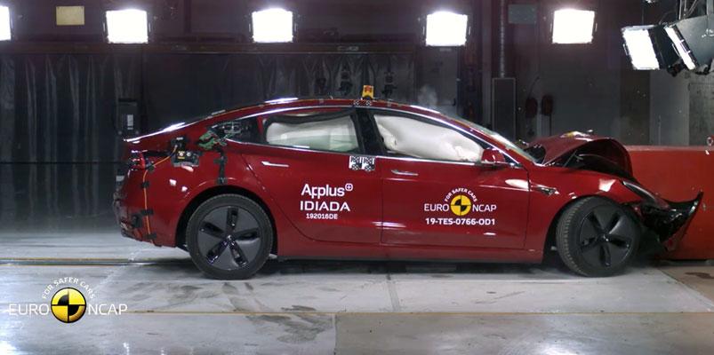 Tesla Model 3 logra las cinco estrellas en pruebas de EuroNCAP