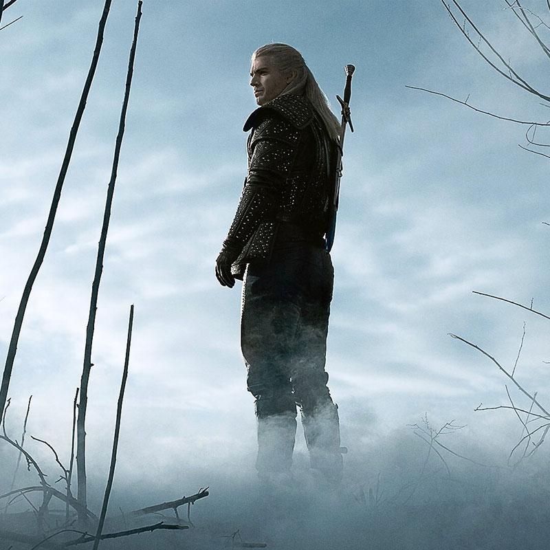 The Witcher Netflix Geralt de Rivia arte