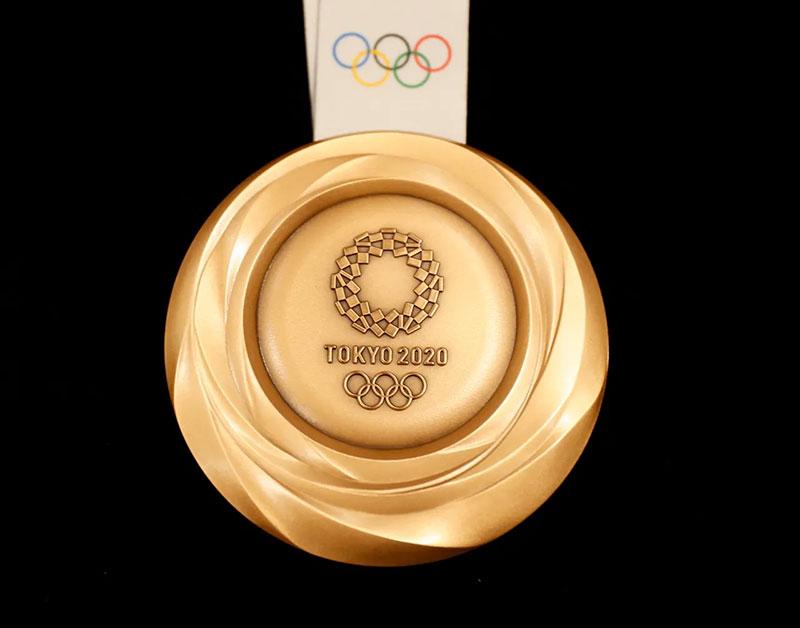 Tokio 2020 medallas sustentables bronce