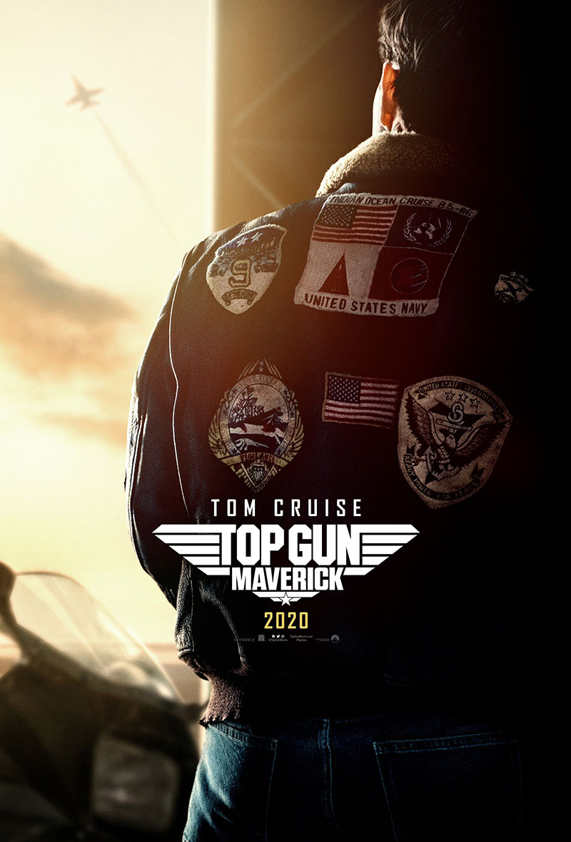 Top Gun Maverick poster Comic-Con 2019