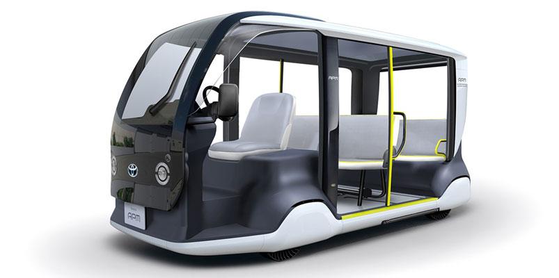 Conoce el Toyota APM, especiales para los Juegos de Tokio 2020