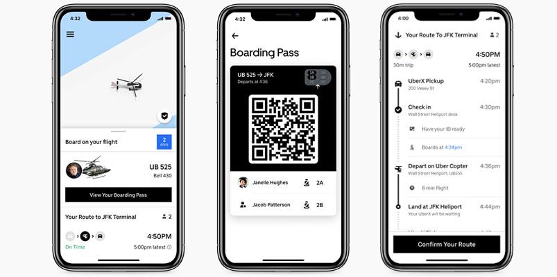 Uber Copter Nueva York app