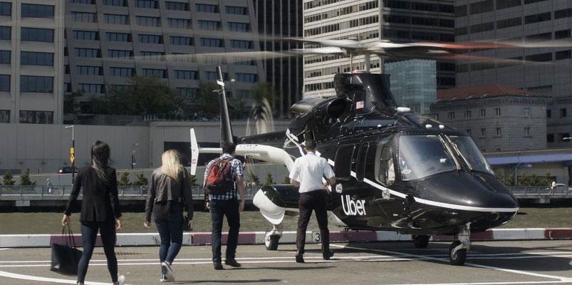 Uber Copter viaja de Manhattan hasta el aeropuerto JFK