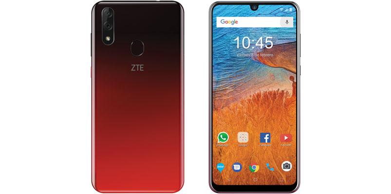 ZTE Blade V10 en rojo gradiente llega a Telcel, acá su precio