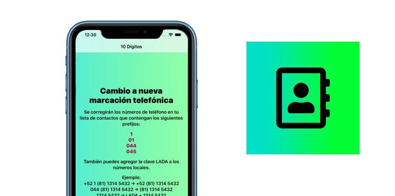 Cambia tus números a 10 dígitos de forma segura con esta app