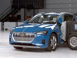 Audi e-tron vehiculo electrico mas seguro