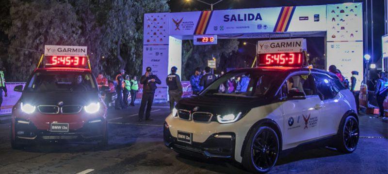 BMW i3s Maraton de la CDMX Telcel 2019