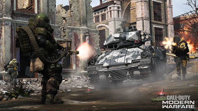 Betas de Call of Duty Modern Warfare septiembre