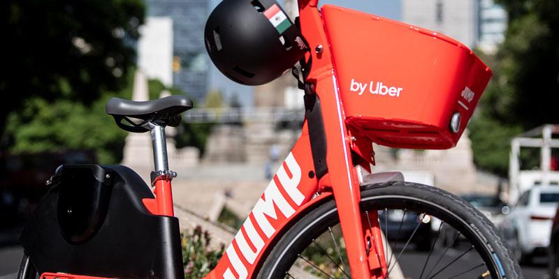 Bicicletas electricas JUMP CDMX