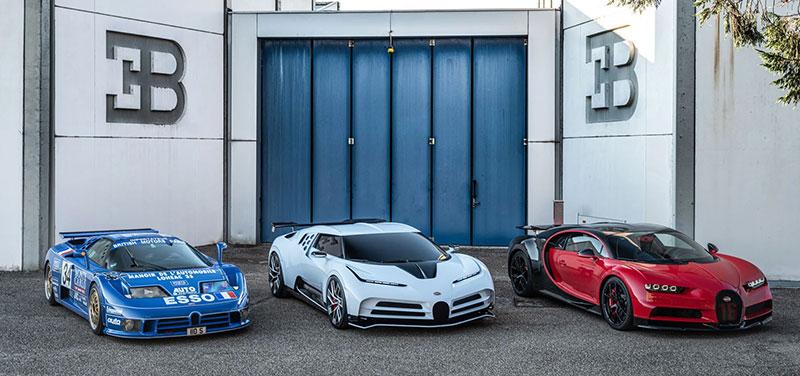 Bugatti Centodieci 110 aniversario