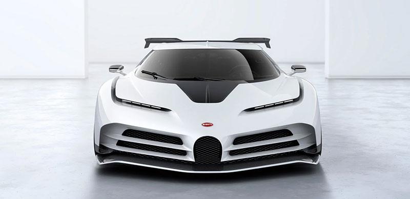 Bugatti Centodieci frente