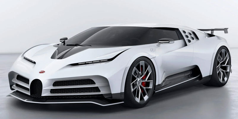 El nuevo Bugatti Centodieci celebra el 110 aniversario de la marca