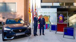 CUPRA y FC Barcelona se unen por las próximas 5 temporadas