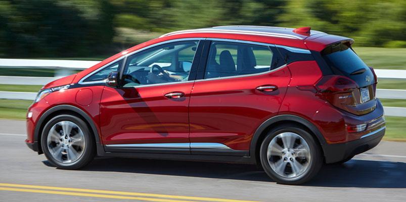 Chevrolet Bolt EV aumenta su autonomía hasta los 416 km por carga