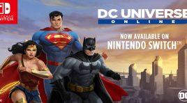 DC Universe Online ya lo puedes jugar en todas partes con tu Switch