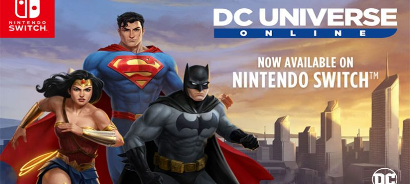 DC Universe Online Switch lanzamiento