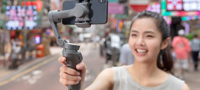 DJI Osmo Mobile 3 plegable