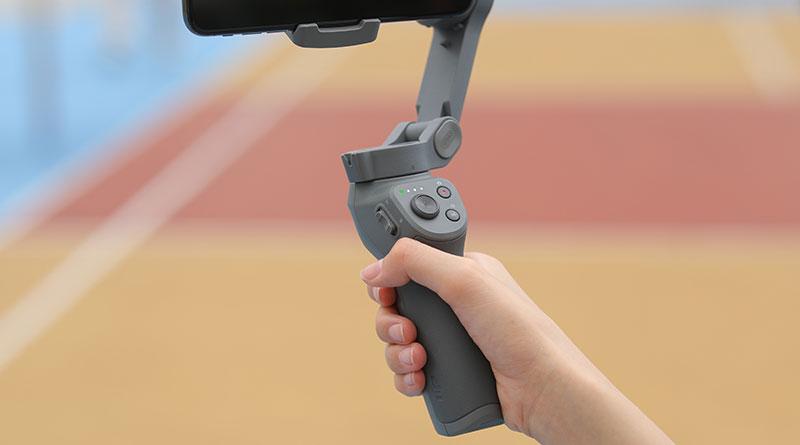 DJI Osmo Mobile 3 plegable controles