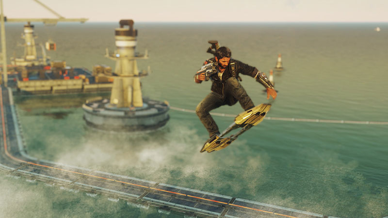 Danger Rising Just Cause 4 Hoverboard