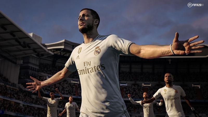 FIFA 20 HAZARD