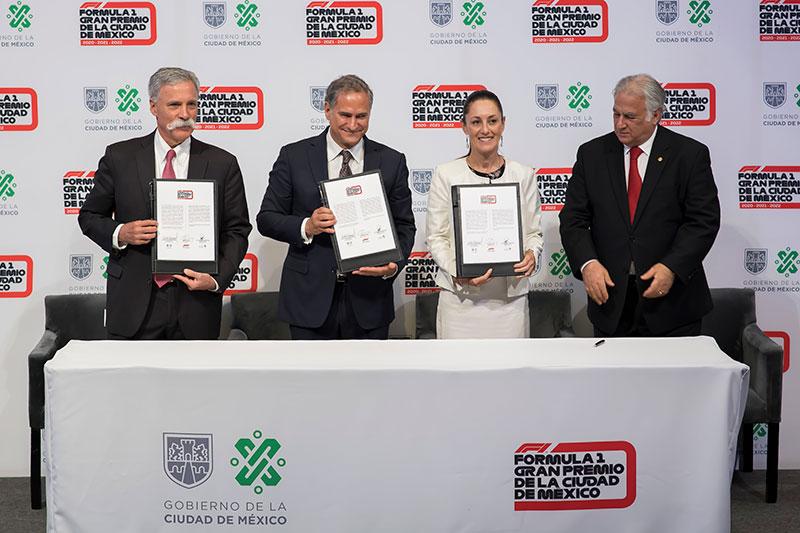 Formula 1 GP Mexico 2022 Firma