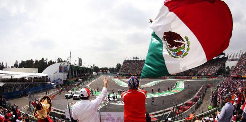 El Formula 1 Gran Premio de la Ciudad de México se queda hasta el 2022