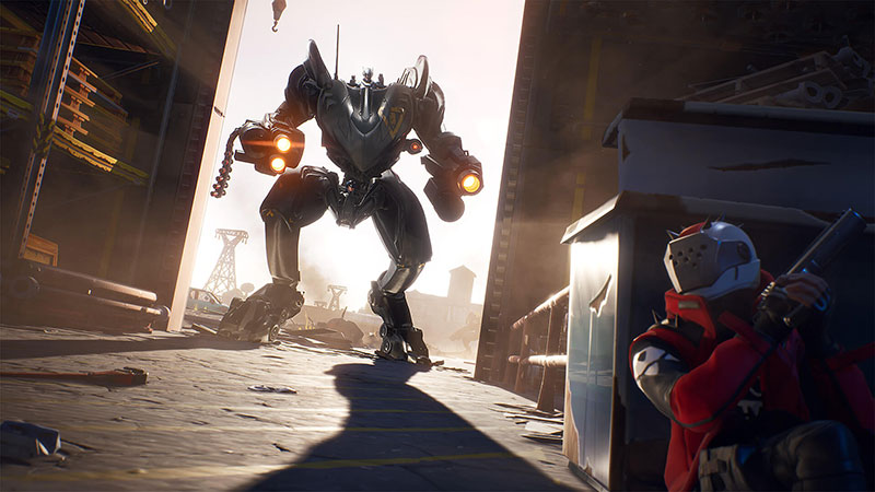 Fortnite Temporada X Mecha BRUTE