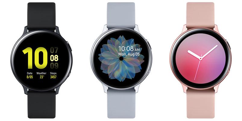Galaxy Watch Active2 es el último reloj inteligente de Samsung