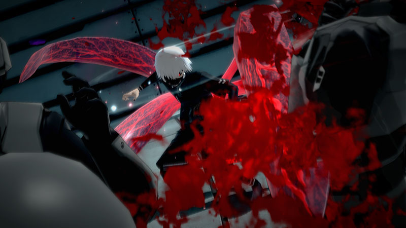 Gameplay TOKYO GHOUL re-CALL to EXIST