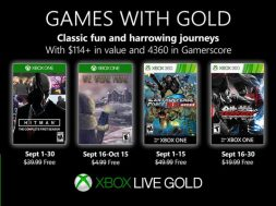 Games with Gold septiembre 2019