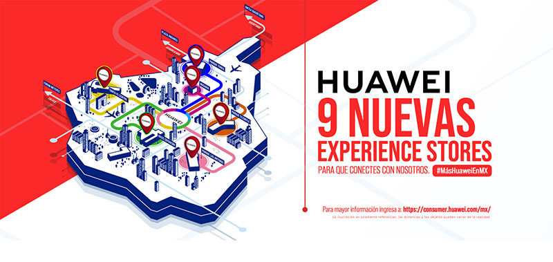 Huawei Experience Stores Mexico 9