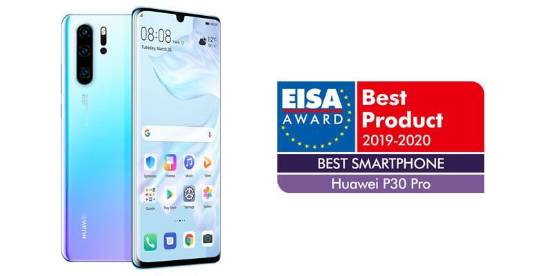Huawei P30 Pro nombrado como el Mejor Smartphone 2019-2020