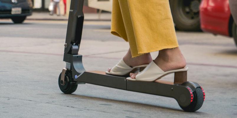 Hyundai Motor Group presenta su nuevo scooter eléctrico portátil