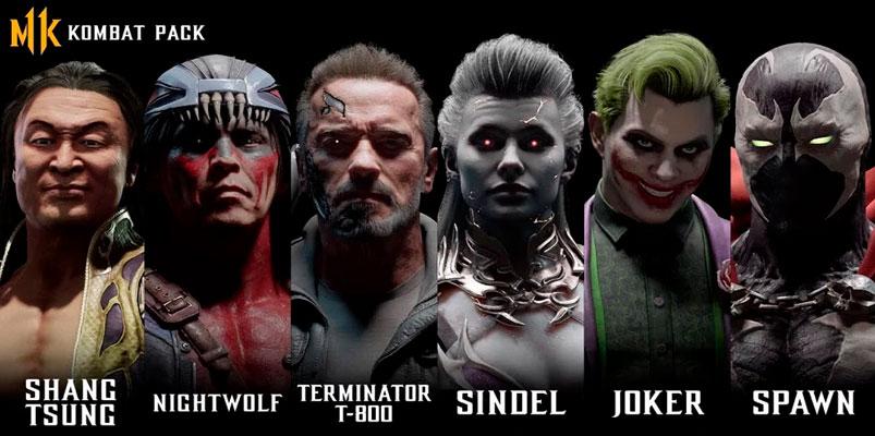 Joker, Spawn, Terminator T-800 llegarán a Mortal Kombat 11