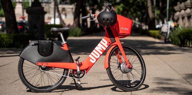 JUMP de Uber es la nueva alternativa de movilidad para la CDMX