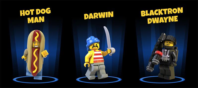 LEGO Legacy Heroes Unboxed minifigura