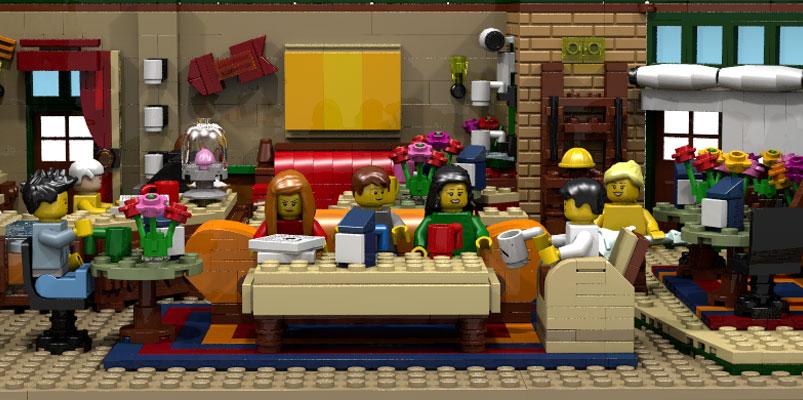 LEGO confirma que lanzará el set inspirado en la serie Friends