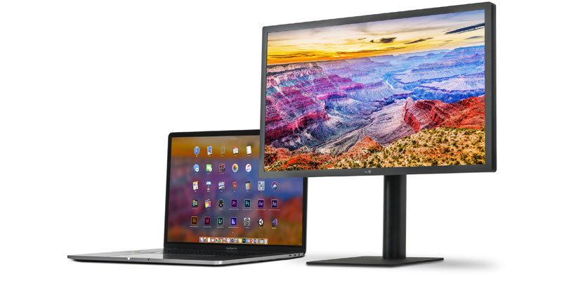 El monitor UltraFine 5K de LG es ideal para iPad Pro y MacBook