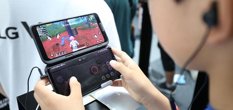 LG V50 ThinQ juegos