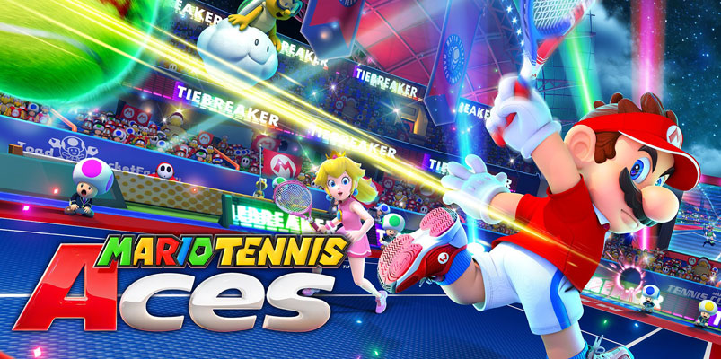 Prueba Mario Tennis Aces cortesía de Nintendo Switch Online