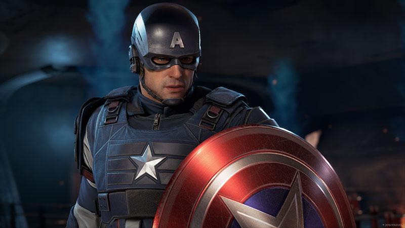 Marvels Avengers gameplay Captain America