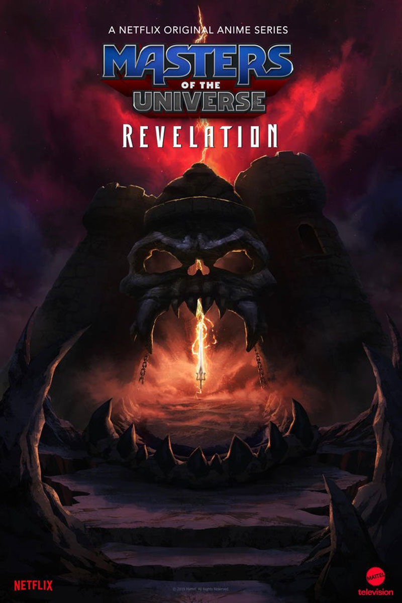 Masters of the Universe Revelation Netflix poster